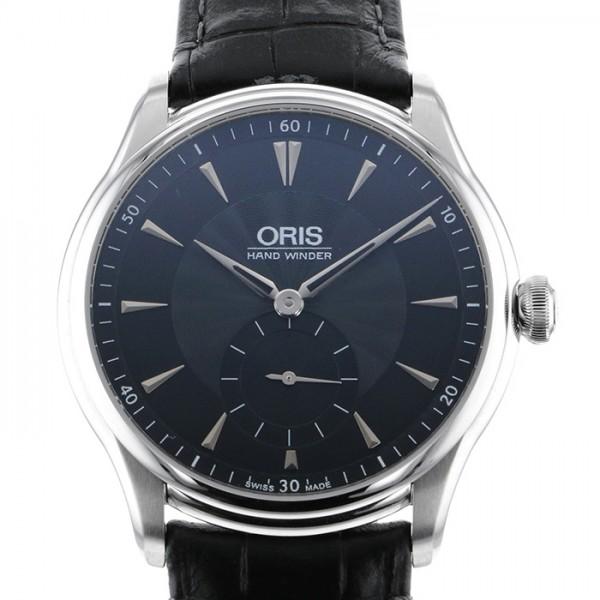 オリス ORIS その他 アートリエ 396 7580 4054D ブラック文字盤 メンズ 腕時計 【新品】