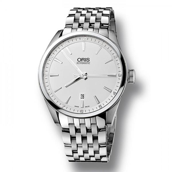 【激安】 オリス ORIS アーティックス メンズ 733 7642 4051M シルバー文字盤 新品 腕時計, ムッシュマスノ アルパジョン 299d8e59