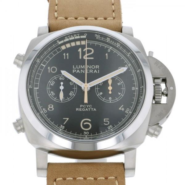 パネライ PANERAI ルミノール1950 PCYC レガッタ 3デイズ クロノ フライバック オートマティック チタニオ PAM00652 ブラック文字盤 メンズ 腕時計 【新品】