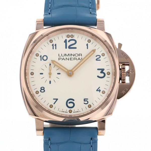 パネライ PANERAI ルミノール ドゥエ 3デイズ オロロッソ PAM00741 アイボリー文字盤 メンズ 腕時計 【新品】