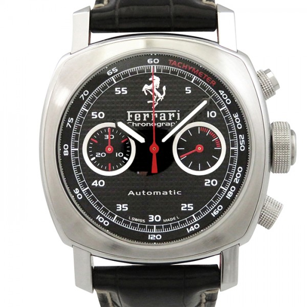 パネライ PANERAI その他 フェラーリ グランツーリズモ クロノグラフ FER00018 ブラック文字盤 メンズ 腕時計 【新品】