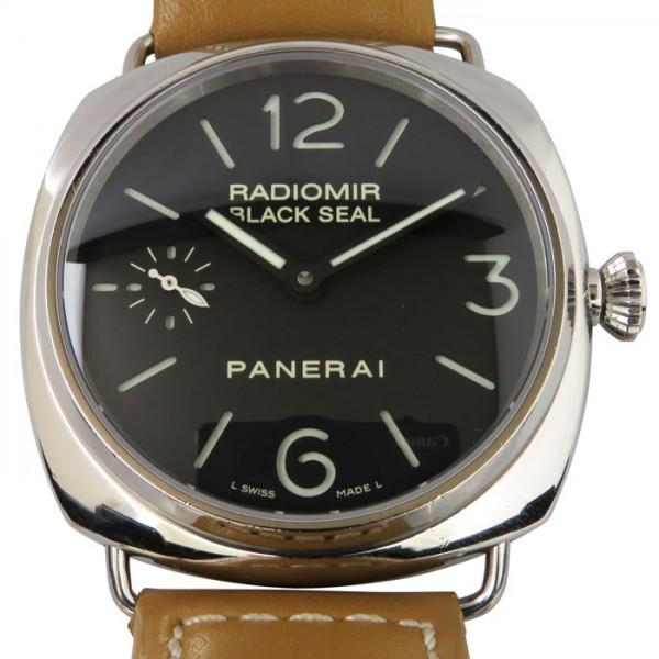 パネライ PANERAI ラジオミール ブラックシール PAM00183 ブラック文字盤 メンズ 腕時計 【中古】
