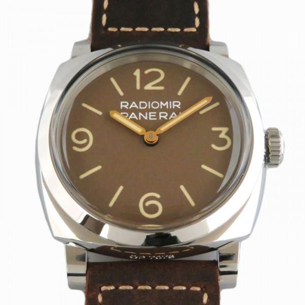パネライ PANERAI ラジオミール 1940 3デイズ アッチャイオ PAM00662 ブラウン文字盤 メンズ 腕時計 【新品】
