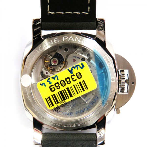 パネライ PANERAI ルミノール1950 3デイズ GMT  PAM00535 ブラック文字盤 メンズ 腕時計 【新品】