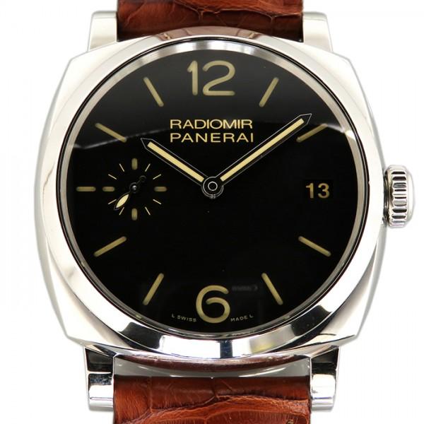 パネライ PANERAI ラジオミール 1940 3デイズ PAM00514 ブラック文字盤 メンズ 腕時計 【中古】