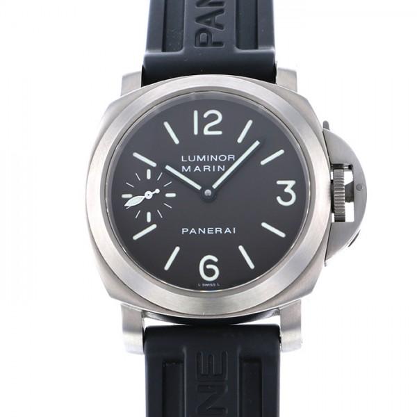 【全品 ポイント10倍 4/9~4/16】パネライ PANERAI ルミノール PAM00061 ブラック文字盤 メンズ 腕時計 【中古】