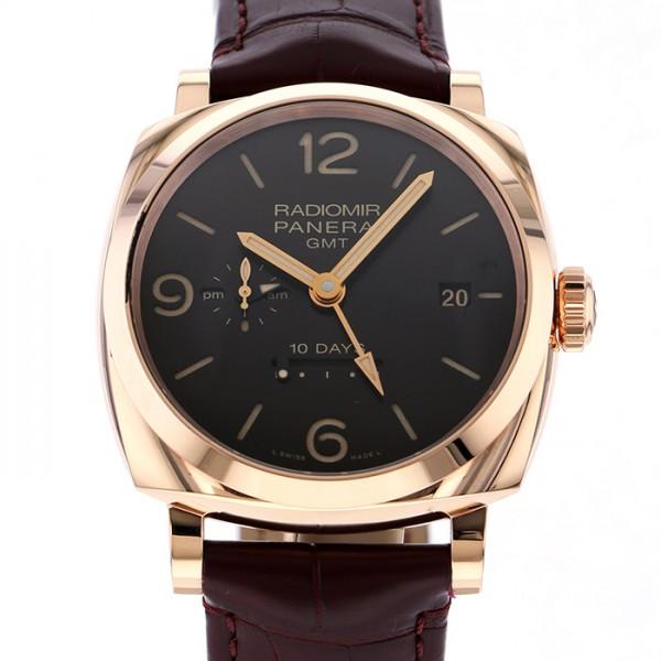 パネライ PANERAI ラジオミール PAM00624 ブラック文字盤 メンズ 腕時計 【中古】