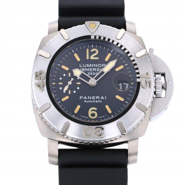 パネライ PANERAI サブマーシブル 世界1000本限定 PAM00194 ブラック文字盤 メンズ 腕時計 【中古】