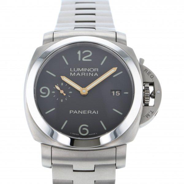 パネライ PANERAI ルミノール1950 マリーナ 3デイズ チタニオ PAM00352 ブラウン文字盤 メンズ 腕時計 【中古】