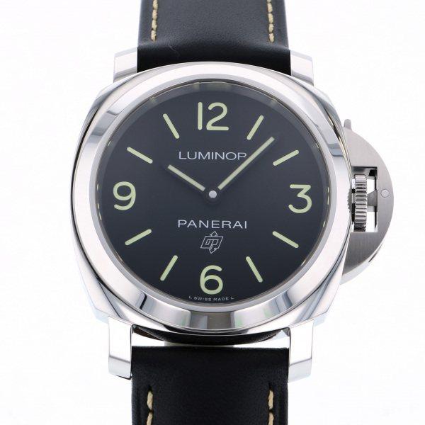 パネライ PANERAI ルミノール ベース ロゴ 3デイズ アッチャイオ PAM00773 ブラック文字盤 メンズ 腕時計 【新品】