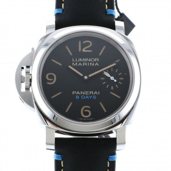 パネライ PANERAI ルミノール レフトハンド 8デイズ アッチャイオ PAM00796 ブラック文字盤 メンズ 腕時計 【新品】