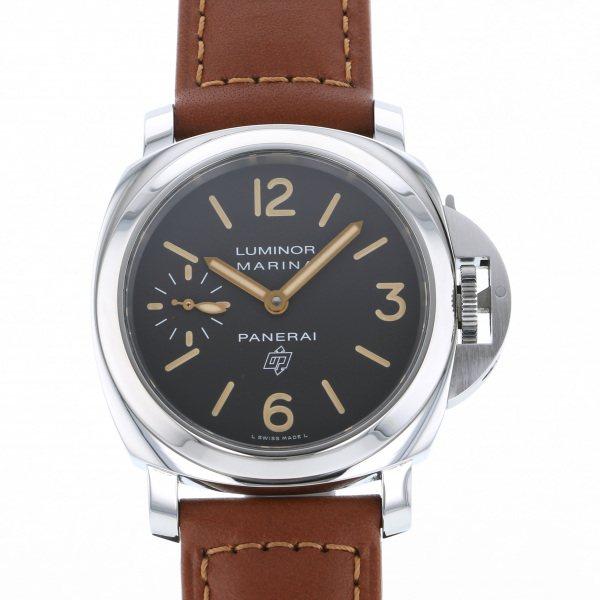 パネライ PANERAI ルミノール マリーナ ロゴ アッチャイオ 世界限定1000本 PAM00632 ブラック文字盤 メンズ 腕時計 【中古】