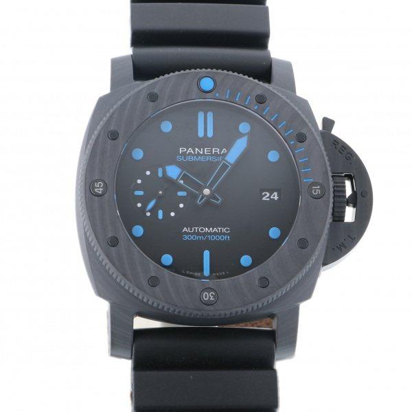 パネライ PANERAI サブマーシブル カーボテック PAM01616 ブラック文字盤 メンズ 腕時計 【新品】