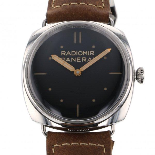 パネライ PANERAI ラジオミール S.L.C PAM00425 ブラック文字盤 メンズ 腕時計 【中古】