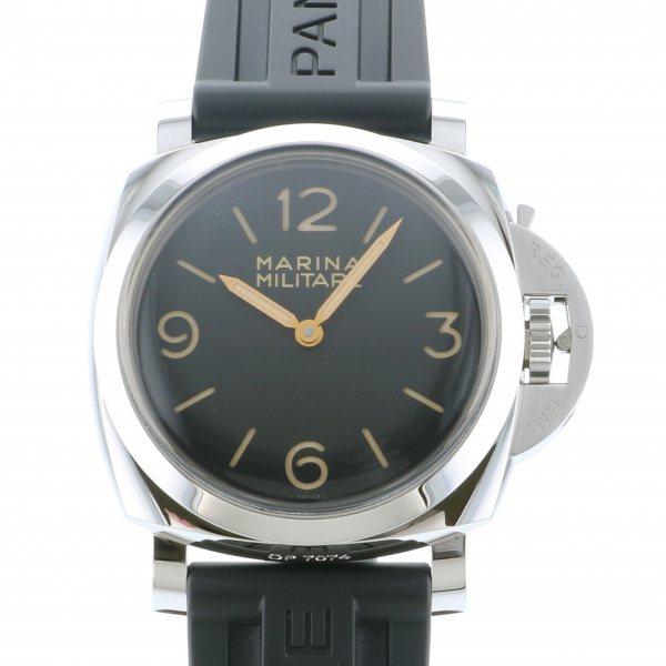 パネライ PANERAI ルミノール1950 マリーナ ミリターレ 3デイズ アッチャイオ 世界限定1000本 PAM00673 ブラック文字盤 メンズ 腕時計 【中古】