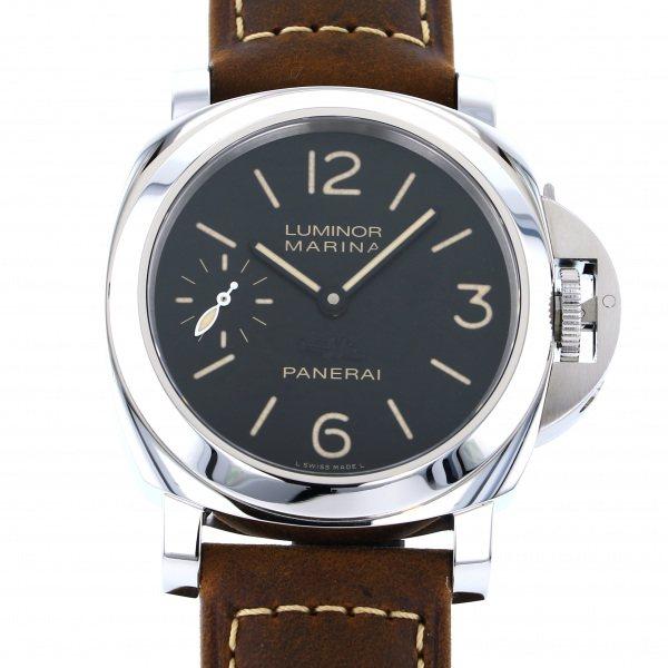 パネライ PANERAI ルミノール マリーナ パリ限定100本 PAM00414 ブラック文字盤 メンズ 腕時計 【中古】