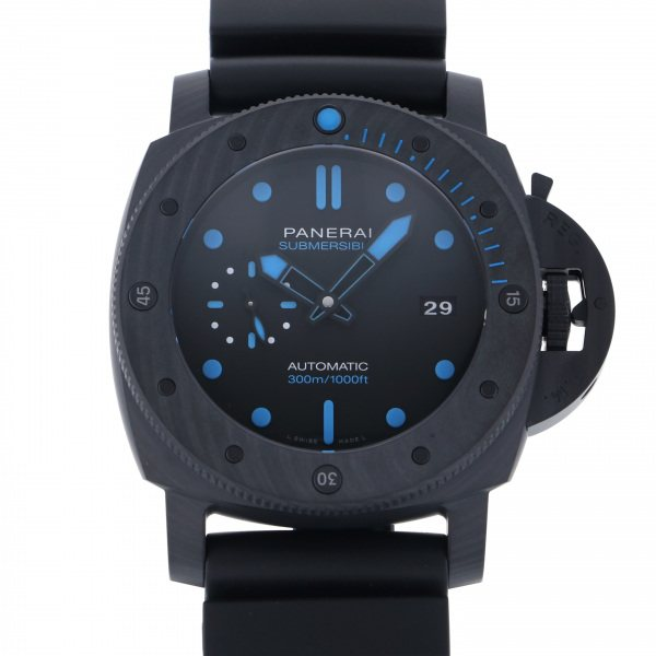 <title>パネライ PANERAI 限定モデル サブマーシブル カーボテック PAM01616 ブラック文字盤 新品 腕時計 メンズ</title>