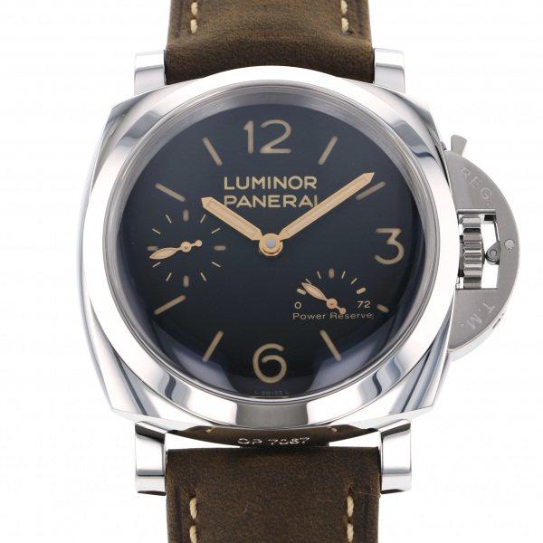 パネライ PANERAI ルミノール 3デイズ パワーリザーブ PAM00423 ブラック文字盤 メンズ 腕時計 【新品】