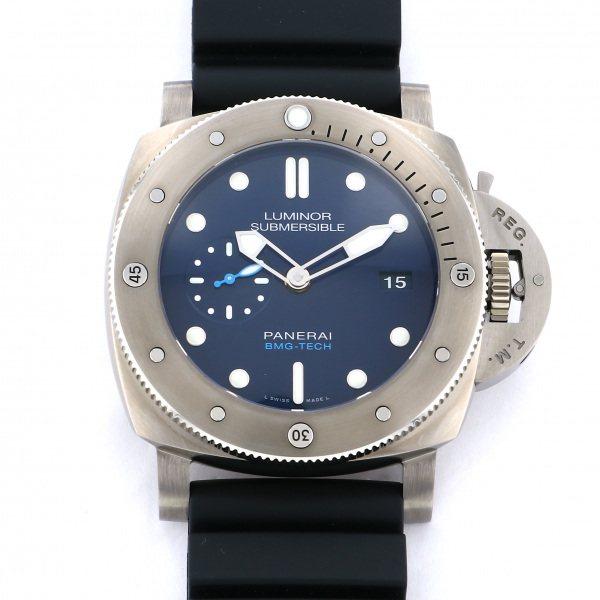 【期間限定ポイント5倍 5/5~5/31】 パネライ PANERAI ルミノール サブマーシブル 1950 BMG-TECH 3デイズ オートマティック PAM00692 ブルー文字盤 メンズ 腕時計 【新品】