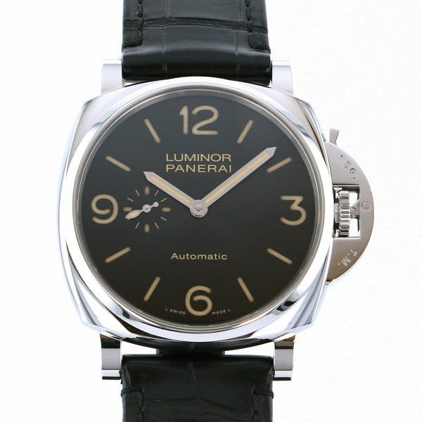 人気定番 パネライ PANERAI 腕時計 ルミノール ルミノール PAM00674 ドゥエ 3デイズ オートマティック アッチャイオ PAM00674 ブラック文字盤 腕時計 メンズ, 河沼郡:c7738834 --- cpps.dyndns.info