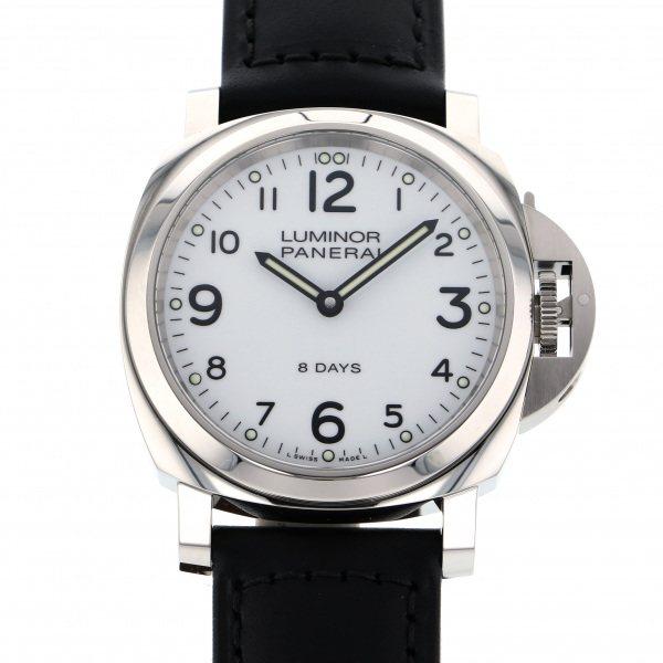 パネライ PANERAI ルミノール ベース 8デイズ アッチャイオ PAM00561 ホワイト文字盤 メンズ 腕時計 【新品】
