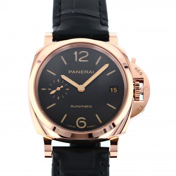 パネライ PANERAI ルミノール ドゥエ PAM01029 ブラック文字盤 メンズ 腕時計 【新品】