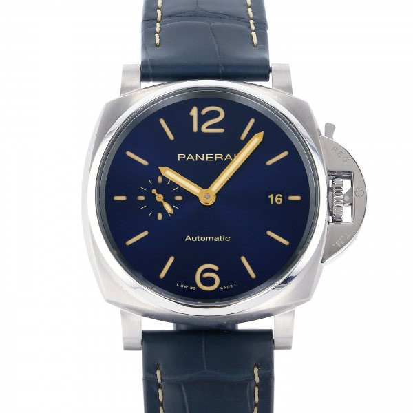 パネライ PANERAI ルミノール ドゥエ 42mm PAM00927 ブルー文字盤 メンズ 腕時計 【新品】