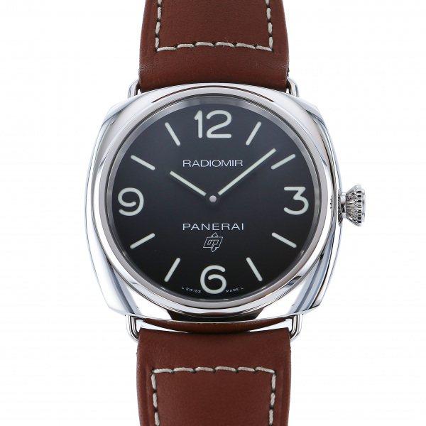 【期間限定ポイント5倍 5/5~5/31】 パネライ PANERAI ラジオミール ベース ロゴ PAM00753 ブラック文字盤 メンズ 腕時計 【新品】