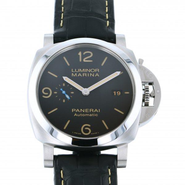 パネライ PANERAI ルミノール マリーナ 1950 3デイズ オートマティック アッチャイオ PAM01312 ブラック文字盤 メンズ 腕時計 【新品】