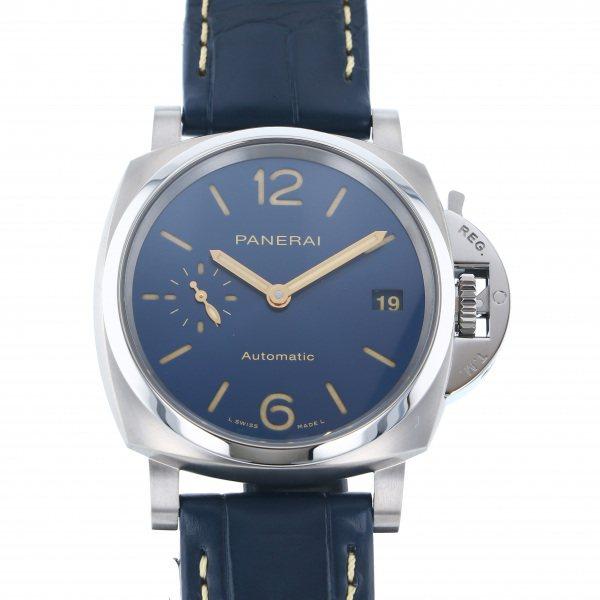 パネライ PANERAI ルミノール ドゥエ PAM00926 ブルー文字盤 メンズ 腕時計 【新品】