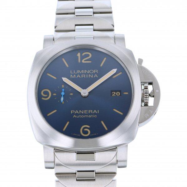 パネライ PANERAI ルミノール マリーナ PAM01058 ブルー文字盤 メンズ 腕時計 【新品】