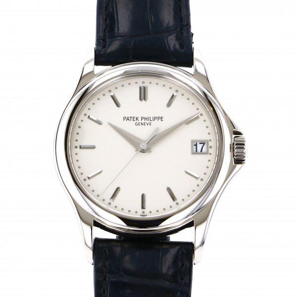 パテック・フィリップ PATEK PHILIPPE カラトラバ 5127G-001 シルバー文字盤 メンズ 腕時計 【中古】