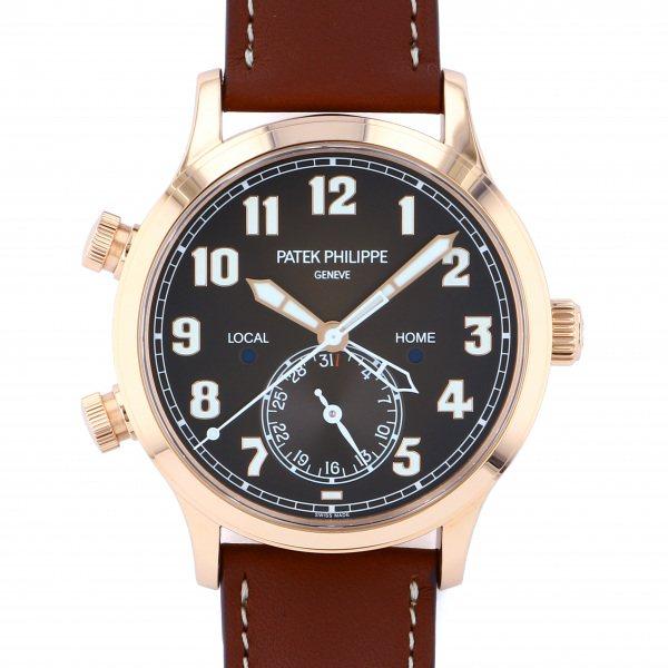 パテック・フィリップ PATEK PHILIPPE カラトラバ パイロット トラベルタイム 5524R-001 ブラウン文字盤 メンズ 腕時計 【新品】