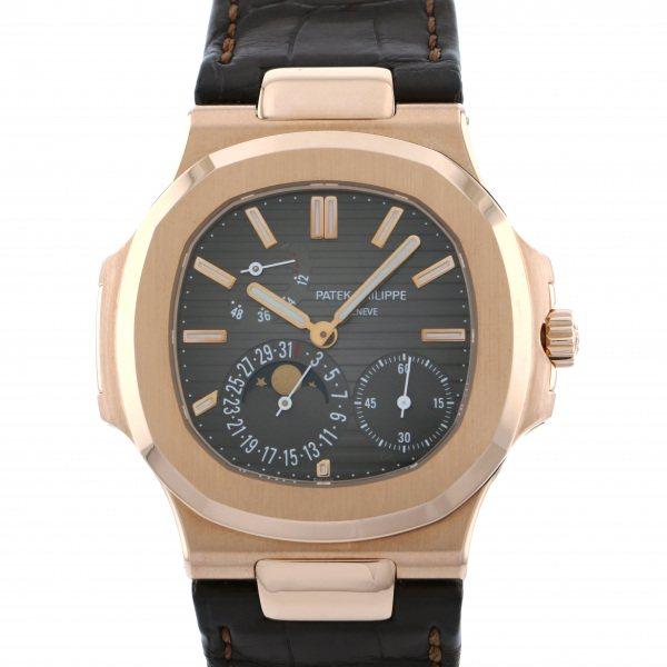 パテック・フィリップ PATEK PHILIPPE ノーチラス 5712R-001 ダークブラウン文字盤 メンズ 腕時計 【中古】