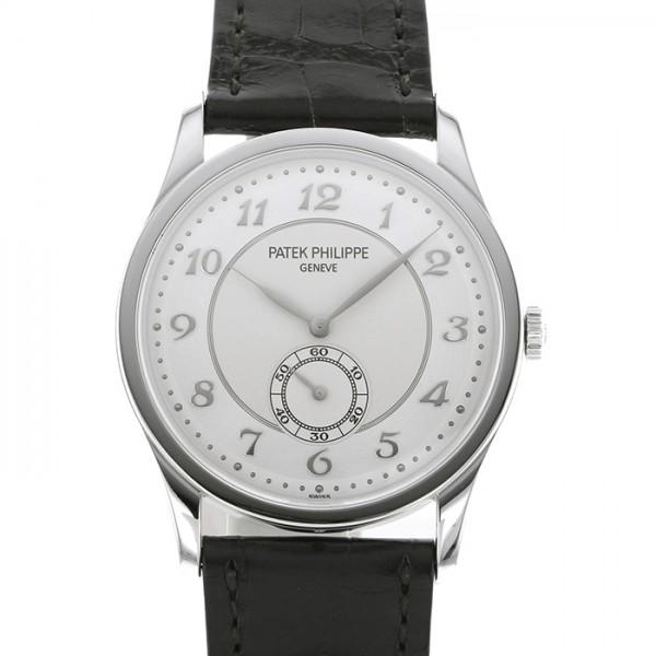 パテック・フィリップ PATEK PHILIPPE カラトラバ 5196P-001 シルバー文字盤 メンズ 腕時計 【新品】
