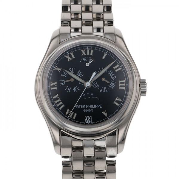 パテック・フィリップ PATEK PHILIPPE アニュアルカレンダー 5036/1G ブラック文字盤 メンズ 腕時計 【中古】