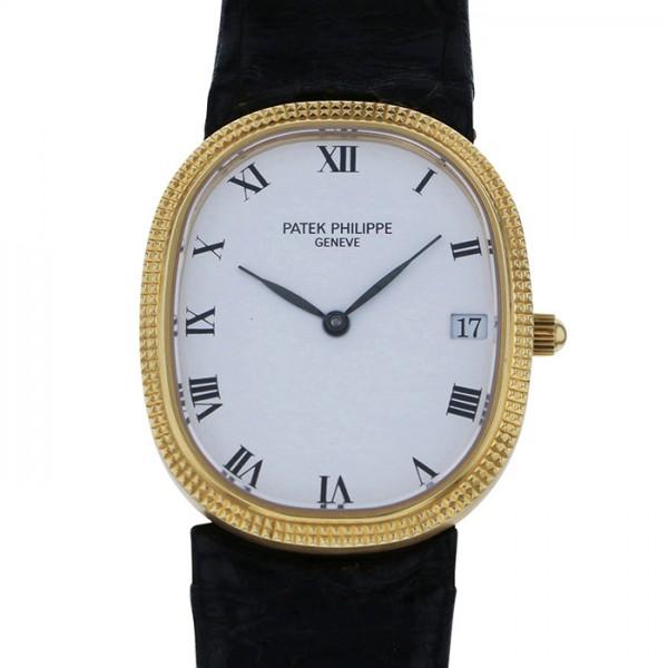 パテック・フィリップ PATEK PHILIPPE その他 ゴールデンエリプス - ホワイト文字盤 メンズ 腕時計 【アンティーク】