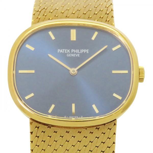 パテック・フィリップ PATEK PHILIPPE その他 オーバル 3545/1J ブルー文字盤 メンズ 腕時計 【アンティーク】