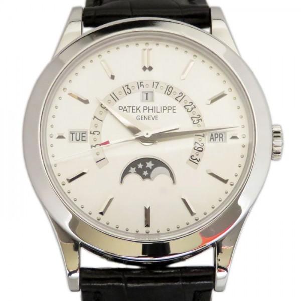 パテック・フィリップ PATEK PHILIPPE パーペチュアルカレンダー 5496P-001 シルバー文字盤 メンズ 腕時計 【新品】