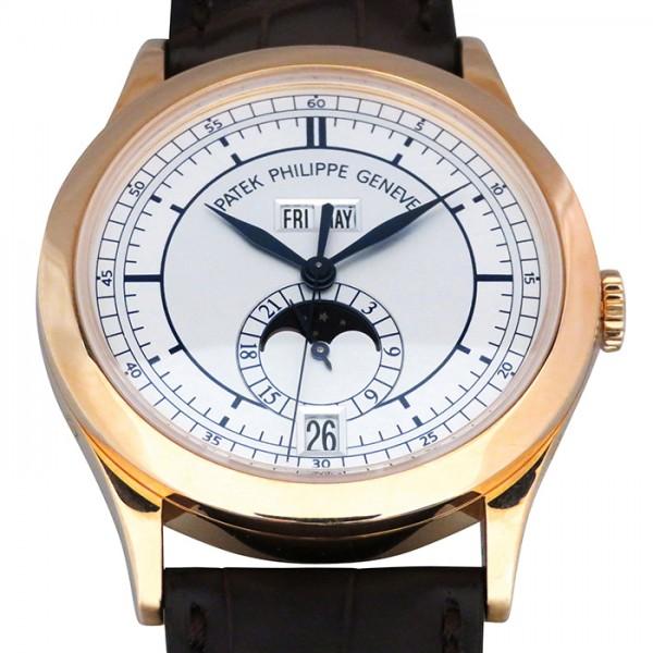 パテック・フィリップ PATEK PHILIPPE アニュアルカレンダー 5396R-001 シルバー文字盤 メンズ 腕時計 【中古】