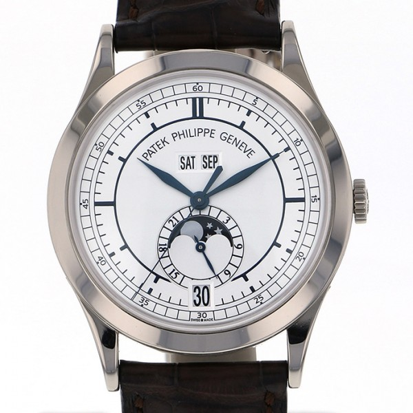 パテック・フィリップ PATEK PHILIPPE アニュアルカレンダー 5396G-001 オパーリンシルバー文字盤 メンズ 腕時計 【中古】