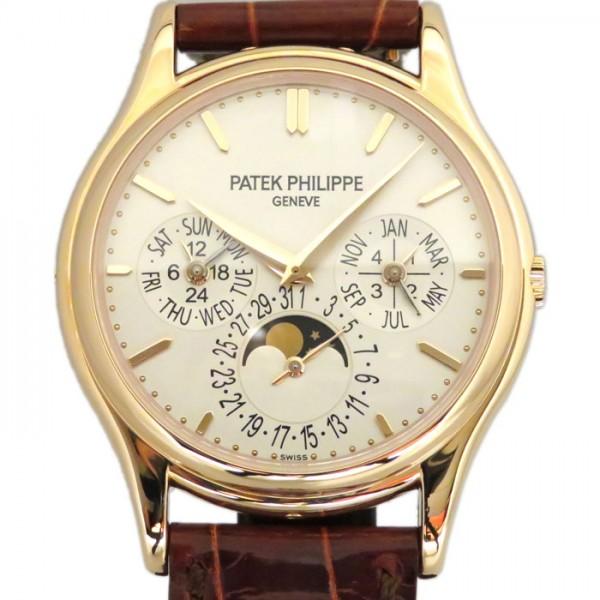 パテック・フィリップ PATEK PHILIPPE パーペチュアルカレンダー 5140R-011 シルバー文字盤 メンズ 腕時計 【新品】