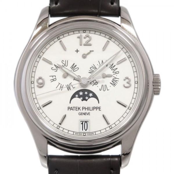 パテック・フィリップ PATEK PHILIPPE アニュアルカレンダー ムーンフェイズ 5146G-001 アイボリー文字盤 メンズ 腕時計 【新品】