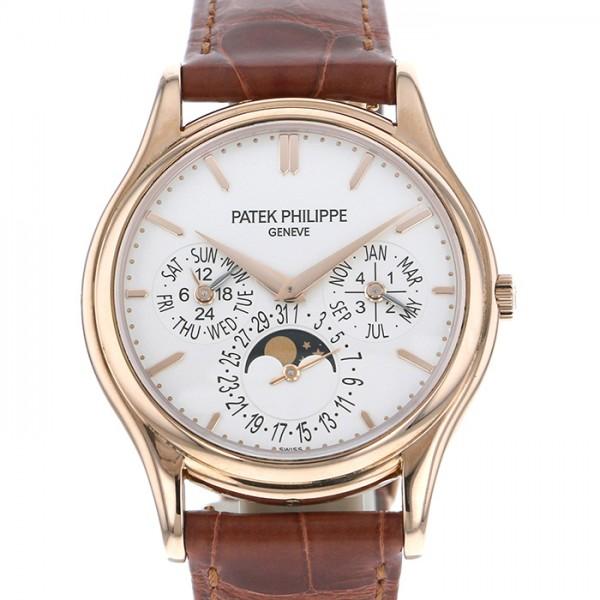パテック・フィリップ PATEK PHILIPPE パーペチュアルカレンダー 5140R-011 シルバー文字盤 メンズ 腕時計 【中古】