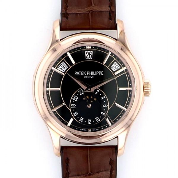 【中古】 メンズ パテック・フィリップ PATEK PHILIPPE ブラック文字盤 5205R-010 アニュアルカレンダー 腕時計