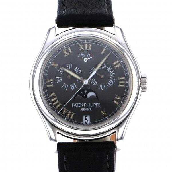 パテック・フィリップ PATEK PHILIPPE アニュアルカレンダー 5056P グレー文字盤 メンズ 腕時計 【中古】