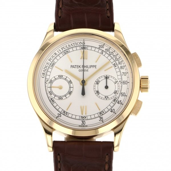 パテック・フィリップ PATEK PHILIPPE その他 コンプリケーション クロノグラフ 5170J-001 シルバー文字盤 メンズ 腕時計 【中古】