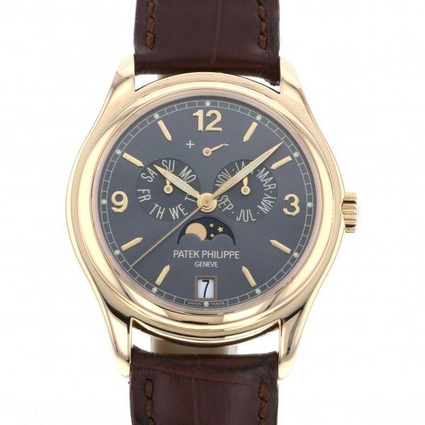 パテック・フィリップ PATEK PHILIPPE アニュアルカレンダー 5146J グレー文字盤 メンズ 腕時計 【中古】