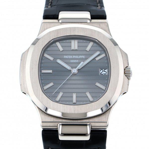 パテック・フィリップ PATEK PHILIPPE ノーチラス 5711G-001 グレー文字盤 メンズ 腕時計 【中古】