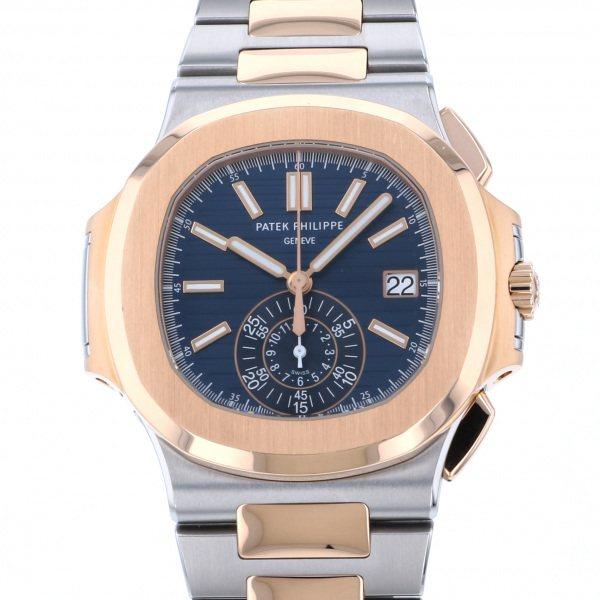 パテック・フィリップ PATEK PHILIPPE ノーチラス 5980/1AR-001 ブルー文字盤 メンズ 腕時計 【中古】